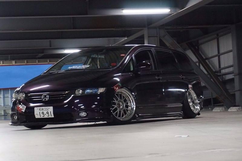 Yuuki's Honda Odyssey
