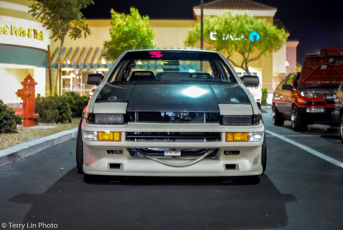 """Sponsored Car"" Myke Adam's AE86"