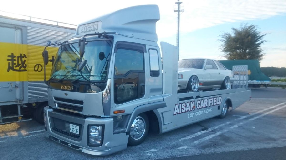 Mr. Yamada's Isuzu Forward & ToyotaSoarer