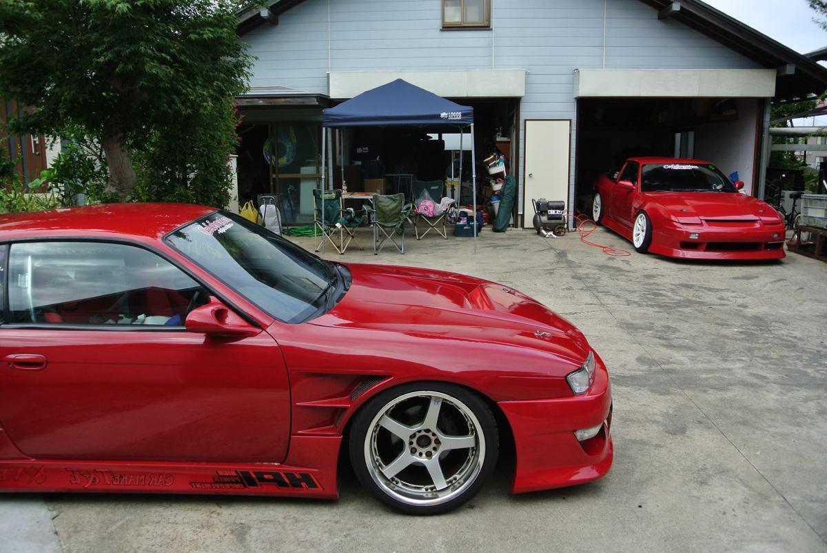 Yasuhiko's Nissan Silvia