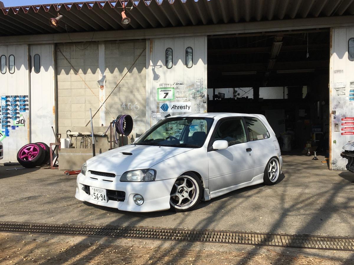 Tomoya's Toyota Starlet